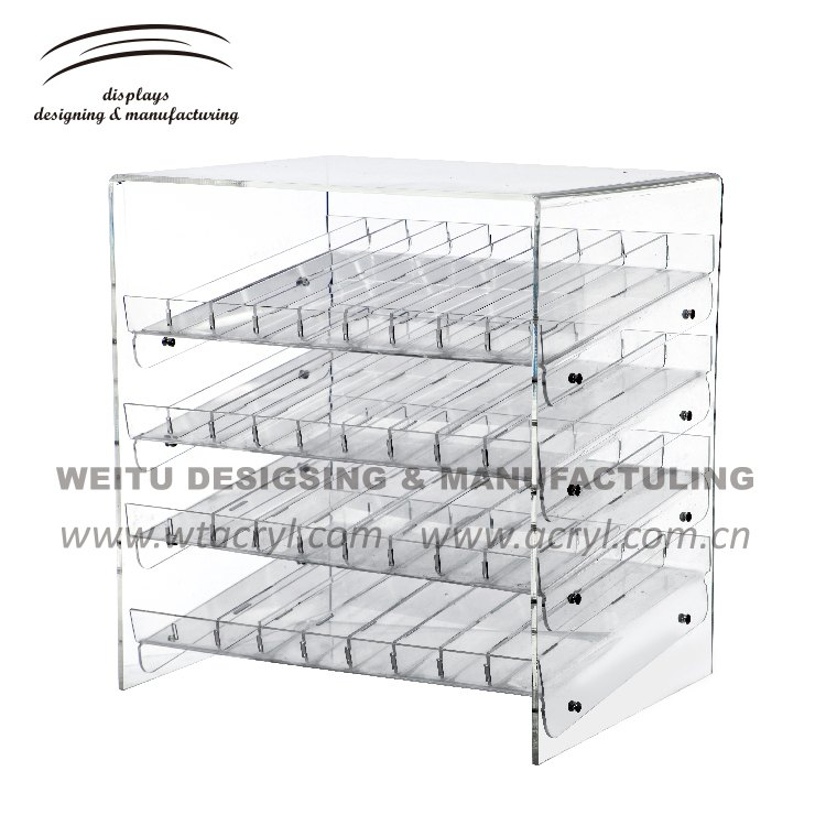 WN-022-- shot glass display case jewelry display stands acrylic