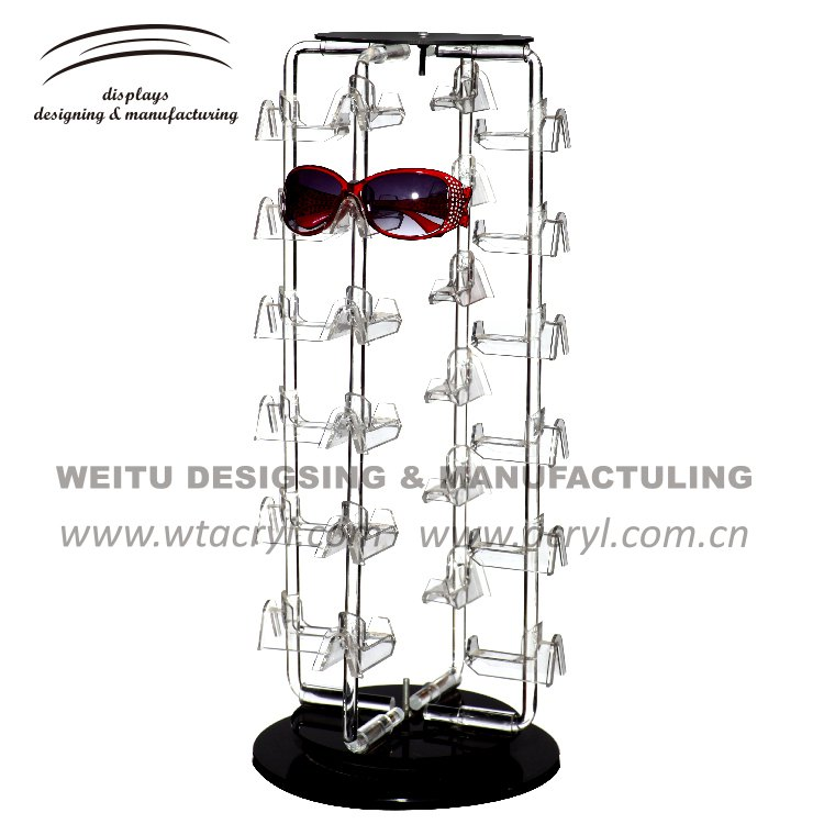 WED-028-- Crystal Acrylic Jewellery Display, Jewelry Display for glasses